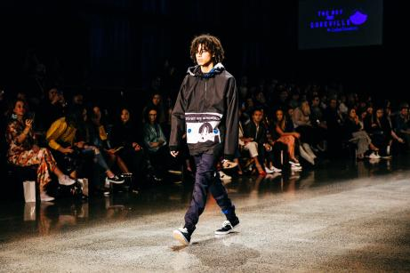 NZFW17 ~ New Generation Show ~ Designer - Luke Dawson ~ Key Makeup Artist - Abbie Gardiner