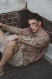 Masculinity Shoot ~ Photographer: Jim & Brick, Stylist: Sam Gan, HMUA: Mural Beauty, Model: Cam Glitch from Red11 Models