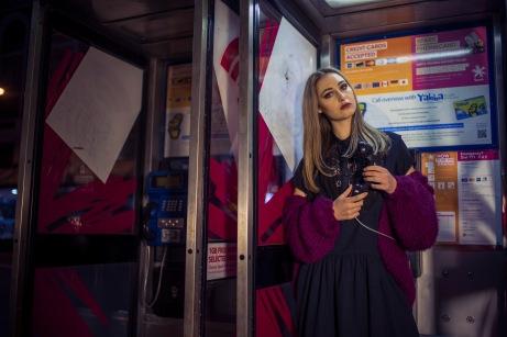 City Girl Shoot ~ Photographer: Lucko Prawito, Stylist: Sam Gan, HMUA: Mural Beauty, Model: Brooke Settle from Red11 Models